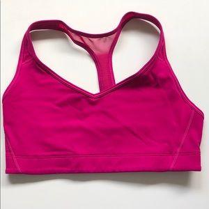 Victoria's Secret Sports Bra Hot Pink